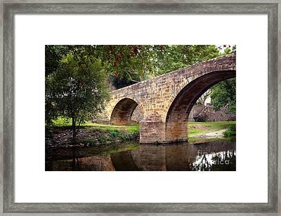 Gois Bridge Framed Print