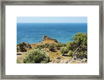 Gokceada Ialand West Coast Framed Print