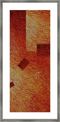 Gold 1 Framed Print