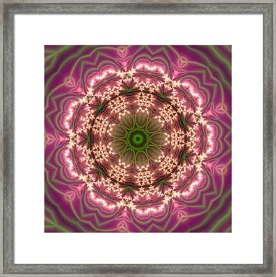 Gold 2 Framed Print