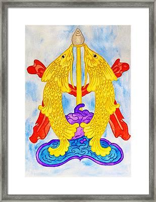 Gold Abundance Framed Print by Iryna Goodall