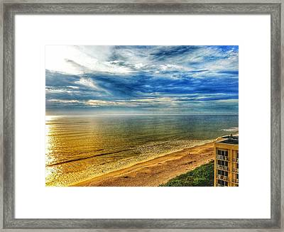 Gold Beach  Framed Print