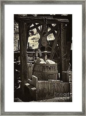 Calico Gold Bucket Framed Print by Paul W Faust -  Impressions of Light