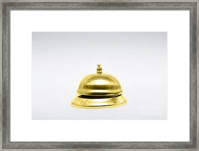 Gold Class Or 1st Class Service Framed Print by Jorgo Photography - Wall Art Gallery