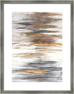 Gold Coast #22 Landscape Original Fine Art Acrylic On Canvas Framed Print