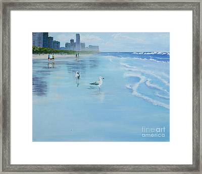 Gold Coast Australia, Framed Print