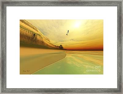 Gold Coast Framed Print by Corey Ford