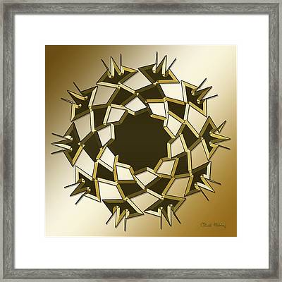 Gold Coffee 10 Framed Print