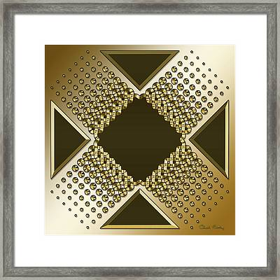 Gold Coffee 9 Framed Print
