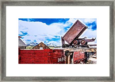 Gold Country Framed Print by Dennis Wagner