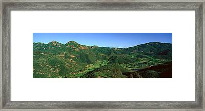 Gold Course, Malibu, California Framed Print by Panoramic Images