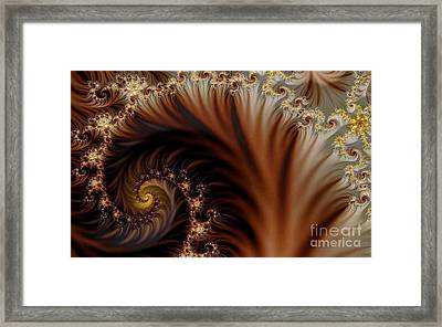 Gold In Them Hills Framed Print