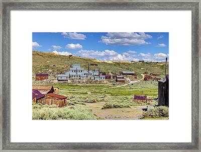 Gold In Them Hills Framed Print by Ricky Barnard