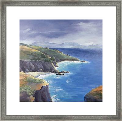 Gold Rush 2 Framed Print by Kathryn Donatelli