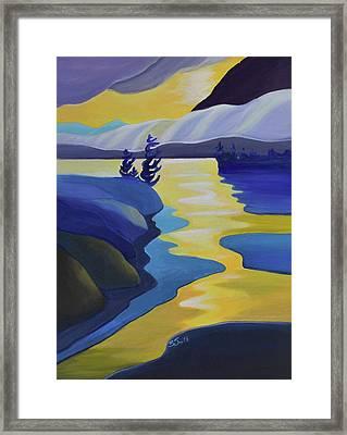 Gold Rush Framed Print