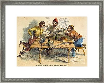 Gold Rush Framed Print by Granger