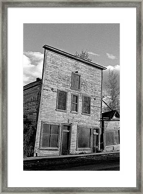 Gold Rush Saloon - Dawson City Framed Print by Juergen Weiss