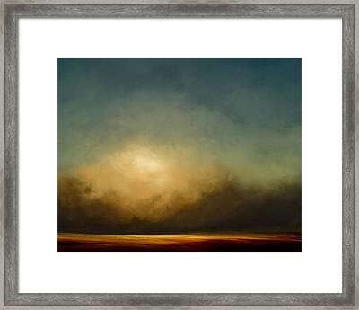 Gold Shift Framed Print