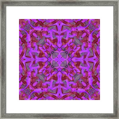 Gold Soup -pattern- Framed Print by Coded Images
