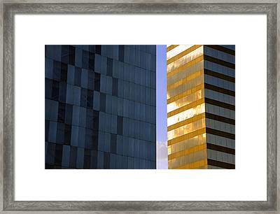 Gold Standard Df Framed Print