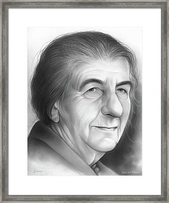 Golda Meir Framed Print