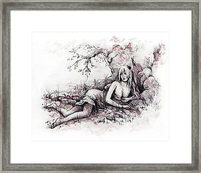 Goldberry Framed Print