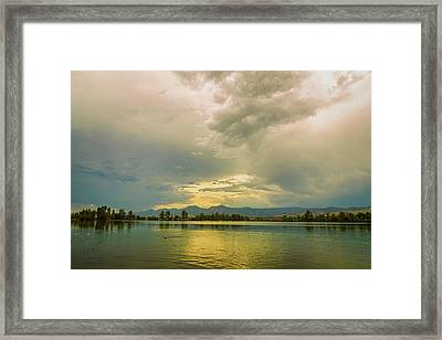 Framed Print featuring the photograph Golden Afternoon by James BO Insogna