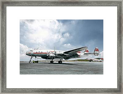 Golden Age Aviation - Lockheed Constellation Framed Print