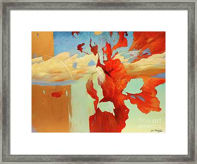 Golden Age Framed Print by Lin Petershagen