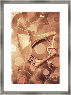 Golden Age Of Sound Framed Print by Jorgo Photography - Wall Art Gallery