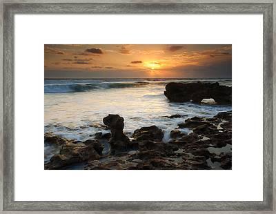 Golden Arch Framed Print by Mike  Dawson