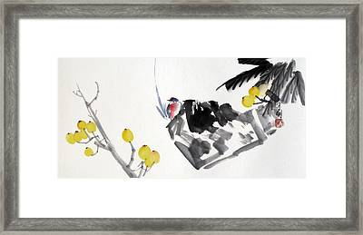 Golden Attraction Framed Print by Ming Yeung