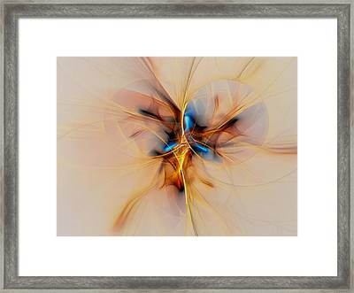 Golden Beetle Framed Print by Marfffa Art
