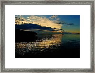 Golden Bliss Framed Print by Christin Walton