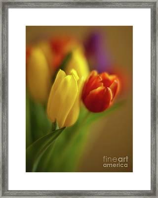 Golden Bouquet Framed Print by Mike Reid