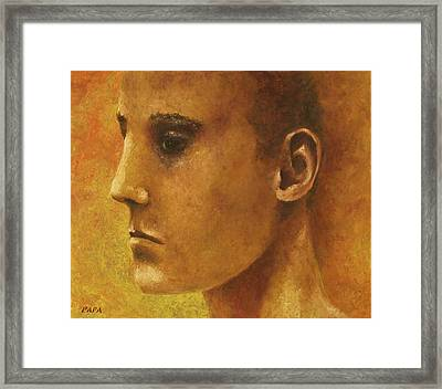 Golden Boy Framed Print by Ralph Papa