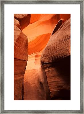 Golden Canyon Framed Print by Eric Foltz