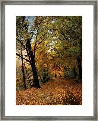 Golden Carpet Framed Print by Jessica Jenney