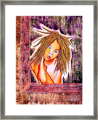Golden Child Framed Print