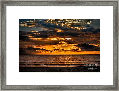 Golden Dawn Framed Print by Dave Bosse