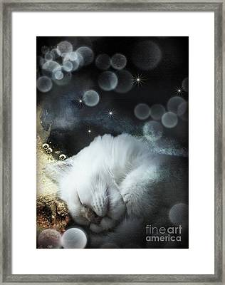 Golden Dreams Framed Print by Monique Hierck