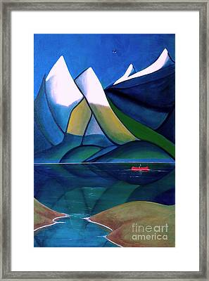 Golden Ears Framed Print by John Lyes
