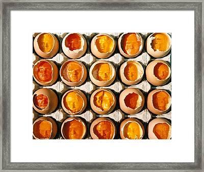 Golden Eggs 2 Framed Print by Mark Cawood