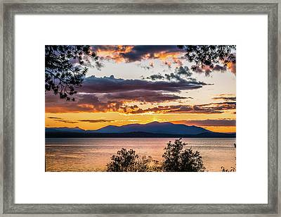 Golden Equinox Framed Print