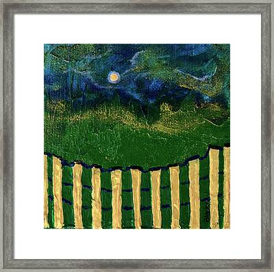 Golden Evening Framed Print by Donna Blackhall