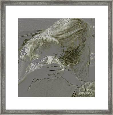 Golden Framed Print by Gary Everson