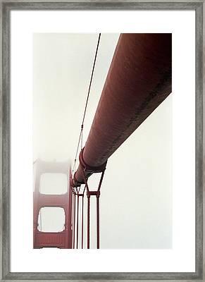 Golden Gate 3 Framed Print