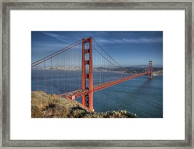 Golden Gate Framed Print by Andreas Freund