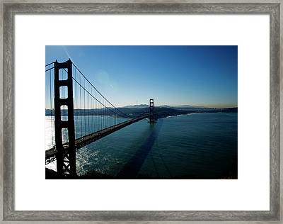 Golden Gate Blues Framed Print