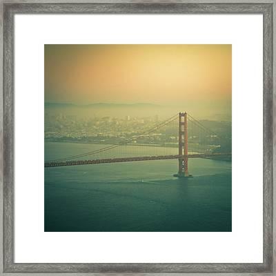 Golden Gate Bridge Framed Print by © Reny Preussker